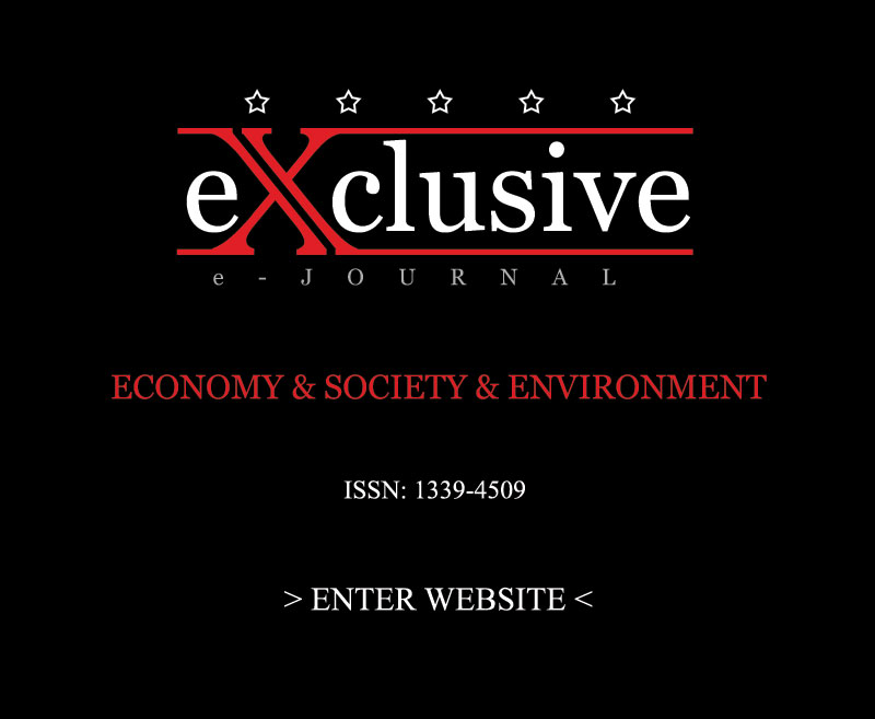 eXclusive e-JOURNAL | Economy & Society & Environment